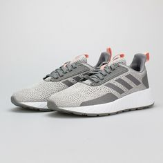 Adidas Shoes OFF! Women Adidas Questar Drive Running Shoes Grey Pink Sneakers NEW - Adidas Shoes for Women - Ideas of Adidas Shoes for Women Women's Shoes, Nike Shoes, Shoes Style, Pink Sneakers, Leather Sneakers, Adidas Originals, Stability Running Shoes, Reebok Princess, Adidas Shoes Outlet