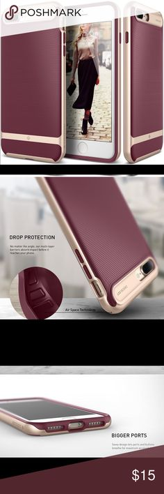 iPhone 7 Plus Case Caseology for Apple iPhone iPhone 7 Plus Case, Caseology [Wavelength Series] Slim Ergonomic Ripple Design [Burgundy] 2016 Dynamic Aesthetics: Soothing lines add some calm to your busy life Soothing Texture: The three-dimensional pattern provides a secure, comfortable grip Reliable Protection: A TPU sleeve and polycarbonate bumper keep your phone safe from falls iPhone 7 Plus Case for Apple iPhone 7 Plus Only (2016) Caseology Accessories Phone Cases