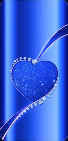 By Artist Unknown. Sassy Wallpaper, Bling Wallpaper, Heart Wallpaper, Cellphone Wallpaper, Blue Wallpapers, Pretty Wallpapers, Love Backgrounds, Hearts And Roses, Kanazawa