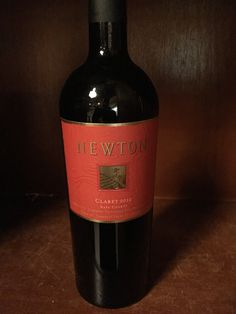 Newton Claret, Napa Valley ('12) $57 - Fresh red raspberry and ripe blackberry aromas with black and blueberry flavors