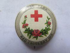 New AMERICAN RED CROSS WW II HOME NURSING PIN