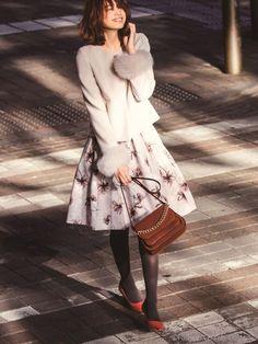 ファー付ショートコート(ファーアウター)|Apuweiser-riche(アプワイザーリッシェ)|ファッション通販 - ファッションウォーカー