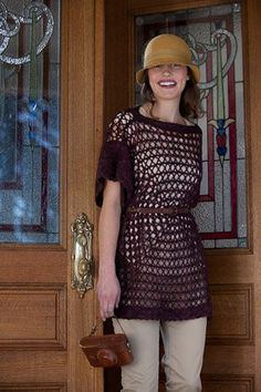 Free Pattern: Nantahala Tunic - Media - Crochet Me