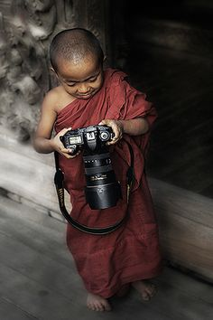 Nikon User, Mandalay, Myanmar, by photosadhu