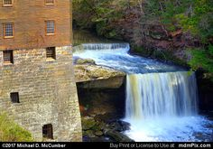 Lanterman's Mill and Falls at Mill Creek Park Picture