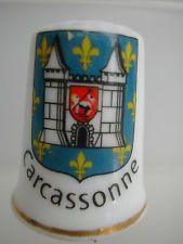 Dé à coudre Thimble - CARCASSONNE BLASON