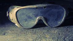kwartsstof - veiligheidsbril - stof