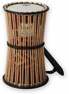 "Remo 6"" Francis Awe Rope Tuned Kanago Talking Drum, West African Fabric by Remo. $137.25. This hour glass shape drum has its origins from the West Africa area of Nigeria. The Remo Talking drums are designed in conjunction with master drummer France Awe and are very similar to the Nigerian talking drum but with more bass tone and a superior shell construction. Manufactured with Remo's proprietary advanced ACOUSTICON shell material this advanced material has excellent pr..."