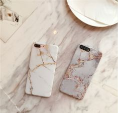 Marble phone cases Luxury fashion tumblr glamour girl cute