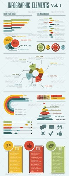 Infographic Elements - Vol. 1: