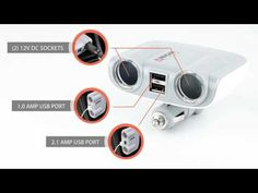 Wagan Tech Companion GO & TravelCharge Series Mobile Power Accessories - YouTube