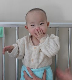 MengWen shares her beautiful smiles with our China Care Home staff while she recovers from surgery to correct her congenital anal atresia. http://halfthesky.org/en/news/journal/5210