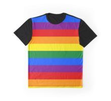 Rainbow Flag Graphic T-Shirt