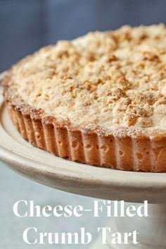 Cheese-Filled Crumb Tart