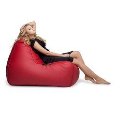 Бескаркасное кожанное кресло Tivoli Lounger™