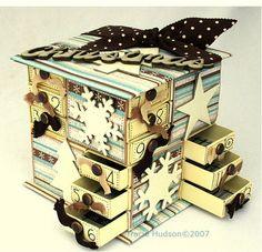 DIY Christmas Advent Calendsr from Matchboxes // Kalendarz Adwentowy z pudełek po zapałkach DIY