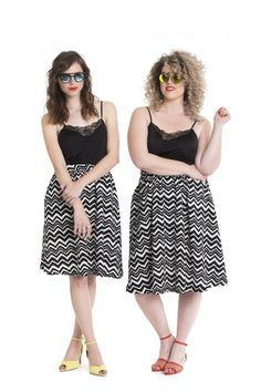 double the fun! look by RONI KANTOR -> http://www.ronikantor.co.il/briza-zigzag