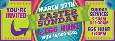 ETNA, OH 3/27/16 Don't miss the 15,000 Easter Egg Hunt at the REAL Church in Etna, OH March 27th, 2016!
