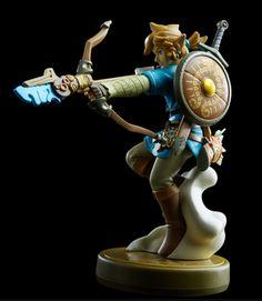The Legend of Zelda: Breath of the Wild Amiibo Figures