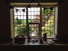 Window at Standen House. East Grinstead. West Sussex. RH19 4NE 3/7/16