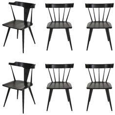 paul mccobb planner group set of six dining chairs - Set Of Six Dining Room Chairs