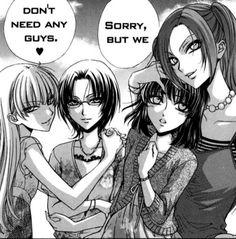 Tags #yuri manga #yuri #GirlxGirl #Shoujo ai #spring summer winter fall