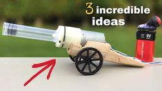3 Brilliant ideas and incredible Homemade inventions You Must See Inventions, Diy Shops, The Incredibles, Science Projects, It Works, Life Hacks, Engineering, Homemade, Fun