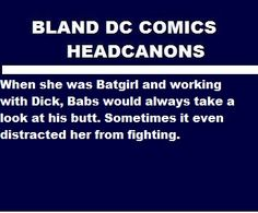 Dick Grayson sometimes has to restrain himself when fighting because of his training with Slade, especially when a Villian hurts his friends or family. I Am Batman, Batman Robin, Nightwing, Batgirl, Superhero Facts, Richard Grayson, Robin Dc, Marvel Facts, Dc Memes