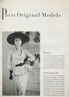 Vogue Paris Original 1140 by Patou in 1951