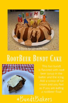 A Day in the Life on the Farm: Root Beer Bundt #BundtBakers