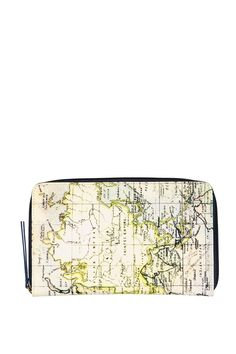 """Pack your bags! This handy travel wallet has a zip around closure to keep your things safe. <br> It has a passport, pen holder, card slots & tabs to store all your documents, cash & a boarding pass! Bon Voyage! <br> Dimensions: 34cm x 14.5cm x 2cm/ 13.38"""" x 5.70"""" x 0.78"""". <br/>"""