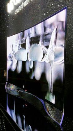 LG OLED Curved TV