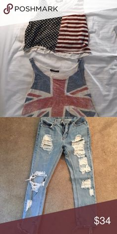 Bundle Re making this cause other one won't work! Lol Brandy Melville Jeans Boyfriend