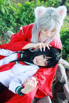 Inuyasha & Kagome cosplay