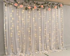 Grey Tulle Wedding Backdrop For Reception Romantic Full Pooling Tulle Chiffon Curtain Set for Wedding Baby Shower Party Decoration Tulle Wedding Backdrop For Reception, Wedding Ceremony Backdrop Curtains, Wedding Baby Shower Backdrop Photo Booth Backd. Quince Decorations, Bridal Shower Decorations, Diy Wedding Decorations, Birthday Decorations, Prom Decor, Backdrop Decorations, Wedding Ideas Using Tulle, Decor Wedding, Decorations For Quinceanera