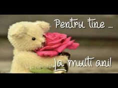 Felicitare muzicala si animata de zi de nastere! La multi ani versiunea originala! - YouTube Happy Birthday Quotes For Friends, Birthday Wishes, Birthday Cards, La Multi Ani Gif, Merry Christmas, Birthdays, Floral, Baby Animals, Video Clip