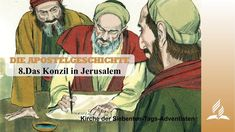 Circumcision is a popular theme among the first Christians. Some Judean Christians proclaim the message: Without circumcision – no redemption possible. The council in Jerusalem meets and gives a clear answer. Jerusalem, Seventh Day Adventist, Christen, Holy Spirit, The Book, Christianity, Acting, Circumcision, Books
