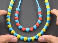 How to Easily tie paracord prayer beads