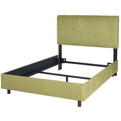 cover bed rail with painted boards (or fabric covered)-  replaces the bed skirt, and you can just repaint it for a new look Classic Straight Complete Bed | Company Kids