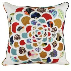 Patchwork Flower Cushion