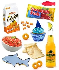 How To Throw An Epic Shark Week Party.. for your crazy shark week belief and amazement, @Sam Taylor Yliniemi