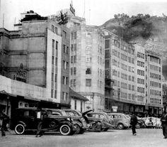 """Como se iban a imaginar estos cachacos, que con el paso de los años perderían estos cómodos parqueos """" a lo ancho"""" de la ya apreciada Aven... Japan Spring, Spring Time, Cali, Good Times, Street View, Quito, Free, Vintage, Bogota Colombia"""