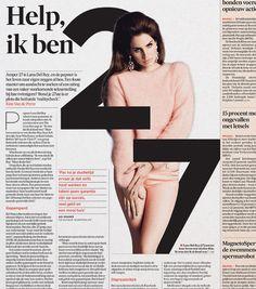 Graphic: Floris Hoorelbeke Art Direction: Arne Depuydt/Freek De Groote © DeMorgen #editorial #design #newspaperdesign