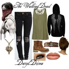 """The Walking Dead- Daryl Dixon"" by xmelissathomasx on Polyvore"