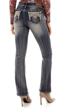 e0d98dd3094 26 Best Plus Size Cowgirl Western Whipstitch Bling Jeans images in ...