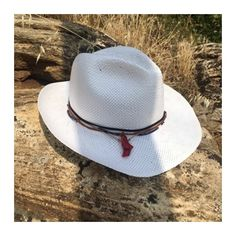 Coral and beads white panama hat Leather Sandals, Panama Hat, Cowboy Hats, Coral, Beads, Handmade, Shopping, Collection, Women