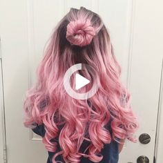 Blue Hair, Pink Hair, Blue Ombre Nails, Dyed Hair, Style Inspiration, Long Hair Styles, Girl Fashion, Lost, Hairstyles