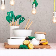 Zubereiten, Genießen und Aufbewahren – das sind die drei Bereiche, denen sich Thomas mit der Kitchen-Kollektion widmet.