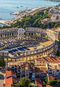 The Pula Arena,Pula,Croatia.