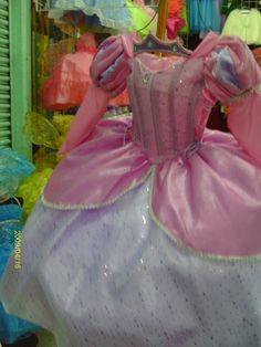 The Little Mermaid Ariel Disney Princess/ Barbie /mermaid party pageant bridesmaid medieval pink bridal graduation dress quinceanera costume. $95.00, via Etsy.